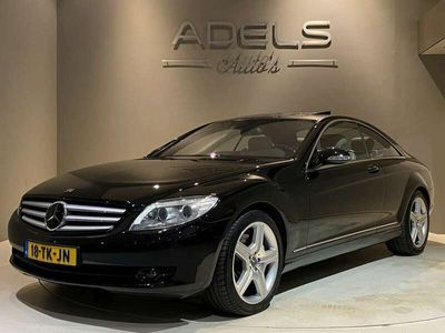 tweedehands Mercedes CL500 Youmgtimer NL Auto NAP Schuifdak Nightvision Softc