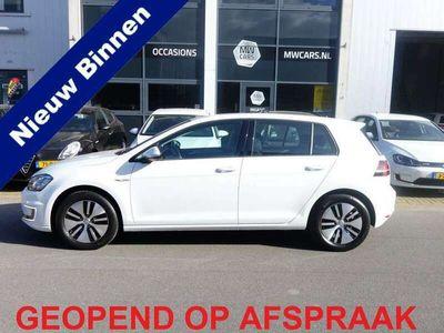 tweedehands VW Golf e-Golf ex BTW € 2.000 subsidie Adaptive cruise Nav