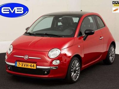tweedehands Fiat 500 TWIN AIR 80 PK CULT, VELE OPTIE'S, LEDER,ECC, 16 I