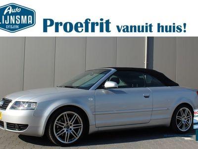 tweedehands Audi A4 Cabriolet 2.4 V6 Exclusive|Clima|Navi|Cabrio