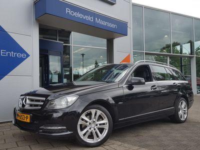 tweedehands Mercedes 220 C-Klasse EstateCDI 170PK AUTOMAAT AVANTGARDE   NAVI   BI-XENON   PDC V+A   CLIMA   CRUISE   17''LM   LICHT+REGENSENSOR   STOELVERWARMING