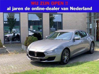 tweedehands Maserati Ghibli 3.0 V6 D MY2018 Distr. 19 inch Harman DAB Busn Fab