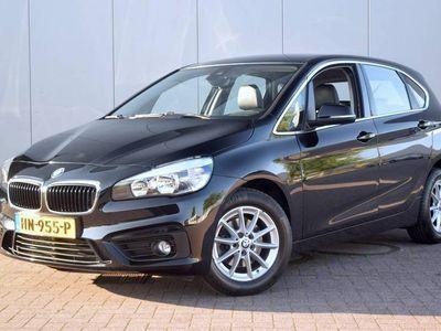 """tweedehands BMW 216 2 Serie Active Tourer d Corporate Lease Essential Harman-Kardon Stoelverwarming Leer Clima Navi Cruise PDC LM16"""" 100% Dealer Onderhouden"""