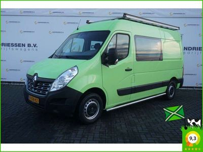 tweedehands Renault Master T35 2.3 dCi 130PK L2H2 Dubbele Cabine, Navi, Airco, Cruise