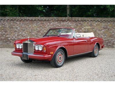tweedehands Rolls Royce Corniche Convertible series 3 ! only 44000 Miles!