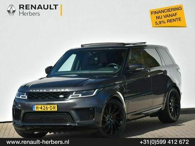 tweedehands Land Rover Range Rover Sport SD4 HSE 22INCH / PANORAMA / CAMERA / ZWARTE HEMEL / LED MATRIX / KEY LESS ENTRY