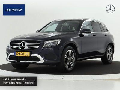 tweedehands Mercedes 250 GLC-KLASSE4MATIC Automaat Exclusive-line | navigatie | parkeer pakket | lichtmetalen velgen | leder Inclusief 24 MB Premium Certified garantie voor Europa.