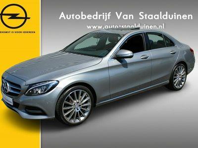 tweedehands Mercedes C250 Prestige Automaat| DVD| AMG Line| Navigatie| Leer| Trekhaak