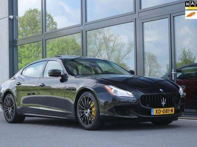"tweedehands Maserati Quattroporte 3.0 D (275pk) | 20"" GTS | LED | ALCANTARA | FULL"