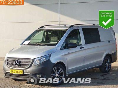 tweedehands Mercedes Vito 119 190PK Automaat Dubbel Cabine Achterdeuren Airc