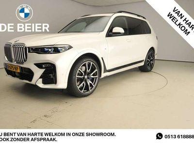 tweedehands BMW X7 XDrive 4.0I M-sportpakket / Laserlicht / Leder / HUD / Glasdak lounge / Trekhaak / Soft close / DAB / Harman-kardon sound / Alu 22 inch