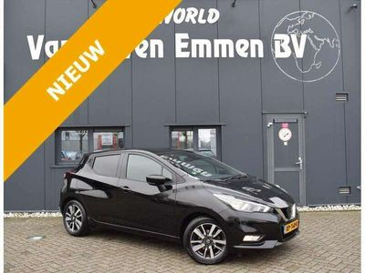 tweedehands Nissan Micra 0.9 IG-T 90pk N-Connecta. Navi/Cruise/Clima