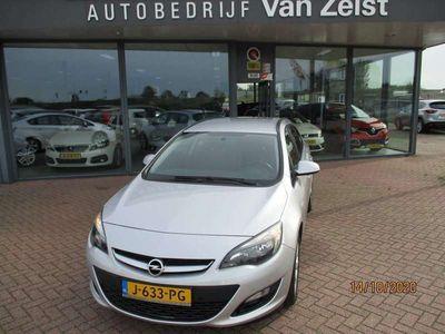 """tweedehands Opel Astra Astra Sports Tourer*AIRCO(AUT)NAVIGATIE*CRUISE CONTROL*SPORTS TOURER 1.4 (140PK) STOELVERWARMING*LM 16""""VELGEN* PARKEERHULP ACHTER*MET NIEUWE APK!!!"""