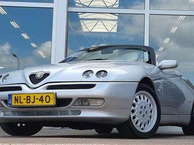 tweedehands Alfa Romeo Spider 2.0i 16V T.Spark ijskoude Airco Mooi Hartop RVS Ui