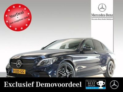 tweedehands Mercedes C180 Premium Plus Pack Line: AMG Automaat