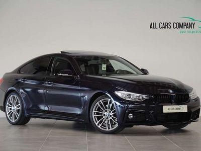 tweedehands BMW 430 Gran Coupé 430d High Exe, M-sport, Schuif/kantelda