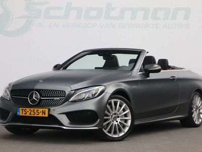 tweedehands Mercedes C43 AMG AMG Cabriolet 4MATIC Designo Performance stoelen Carbo