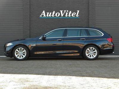 tweedehands BMW 520 5 Serie TouringdAS Luxury Line, Nappa Leder, Navi-Pro, Panodak, Active Cruise, Harman/Kardon Surround - 2016