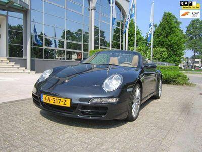 tweedehands Porsche 997 Cabrio 3.6 (997) automaat ,sport chrono, boekjes ,