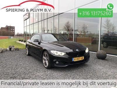 "tweedehands BMW 428 4-SERIE Cabrio i High Exec. Sport Line HUD 19"" LMV Sport Stoelen"