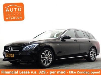 tweedehands Mercedes E350 C-Klasse EstatePlug in Hybrid 211pk AMG line Aut- Hleer, Navi, Camera, Led Xenon