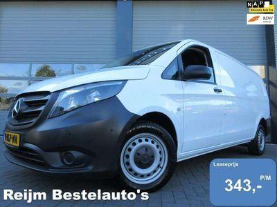 tweedehands Mercedes Vito 111cdi extra lang xl met airco navi cruise t