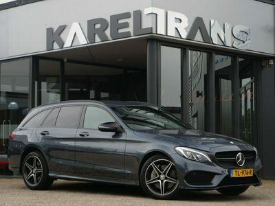 tweedehands Mercedes C400 C-KLASSE Estate4matic | AMG | burmester | distronic+ | led | comand | zeer nette..