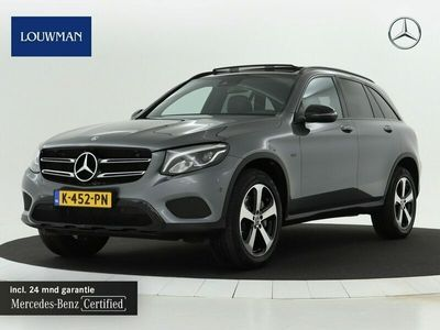 tweedehands Mercedes E350 GLC-KLASSE4MATIC Premium Plus 211 pk | Panoramadak | Night pakket | Stoelverwarming | Inclusief 24 MB Premium Certified garantie voor Europa.