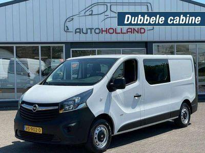 tweedehands Opel Vivaro 1.6 CDTI 85KW 116PK L2H1 DC DUBBELE CABINE AIRCO/