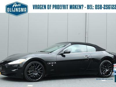 tweedehands Maserati GranCabrio 4.7 Automaat Navi Clima PDC v+a