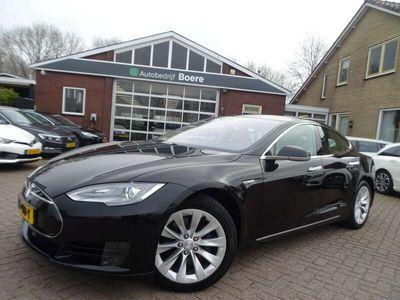 tweedehands Tesla Model S 70 320pk Ex.Btw, Autopilot, Leer, Camera