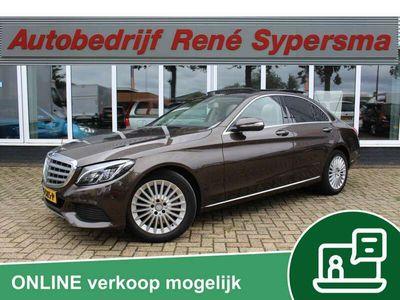 tweedehands Mercedes C350e Lease Edition Panoramadak/Keyless entery/Camera/