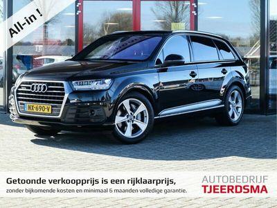 tweedehands Audi Q7 3.0 TDI quattro Pro Line S 7p S-line 7Pers/4Zone-Clima/Adapt.Cruise/Trekhaak/Alcantara-Hemel/Panodak/Winterset/Standkachel