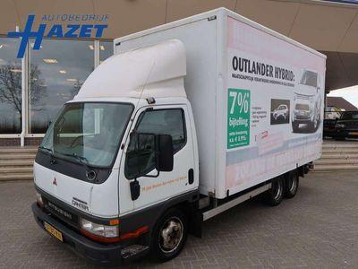 tweedehands Mitsubishi Canter 35 3.0D BE-COMBI CLICKSTAR MEUBELBAK 3690 KG LAADV