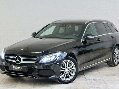 tweedehands Mercedes C350 350 e Lease Edition. Burmester, Luchtvering, NAP!