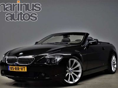 tweedehands BMW 645 Cabriolet Automaat 645Ci 334pk Navi/Xenon/Leer/Cruise
