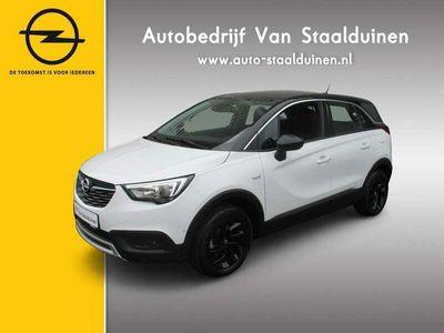 tweedehands Opel Crossland X 1.2 Turbo Innovation Navigatie| 130pk| Parkeersensoren v+a| Camera| 16 inch velgen AANBIEDING OOK MET PRIVATE LEASE VANAF: €399 euro per maand