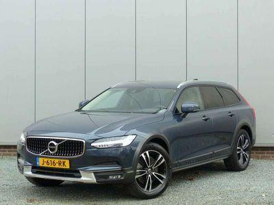tweedehands Volvo V90 CC D4 AWD AUT 6 MND garantie Leer / Navi / LED / Acht