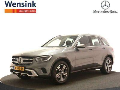 tweedehands Mercedes 200 GLC4MATIC Premium Exclusive   Trekhaak   Panorama-schuifdak   Dodehoekassistent   stoelverwarming  
