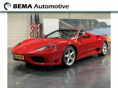 tweedehands Ferrari 360 3.6 V8 Spider F1 (CARBON STOELEN/LEER/DEALERAUTO)