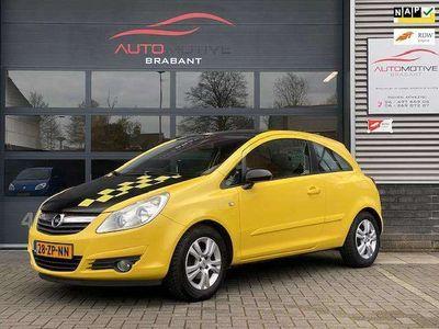 tweedehands Opel Corsa 1.4-16V Enjoy Airco LM-velgen