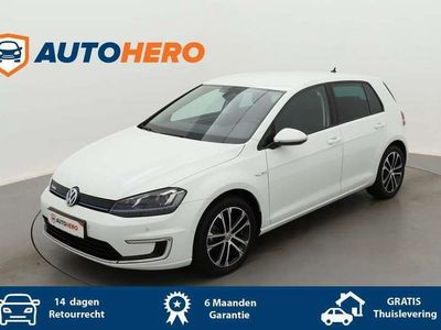 tweedehands VW Golf e-Golf BU31512 | Navi | Leder | LED | Adaptive Cru