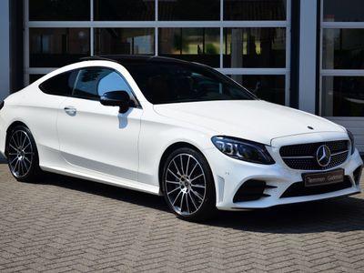 tweedehands Mercedes 300 C-KLASSE CoupéAMG * Panorama * Night-pakk * Burmester * Keyless-Go