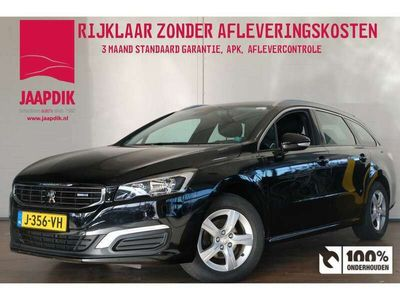 tweedehands Peugeot 508 SW BWJ 2015 1.6 BlueHDi 116 PK Blue Lease Premium