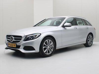 tweedehands Mercedes E350 C-Klasse EstatePlug-In Hybrid 279pk 7G-Tronic Lease Edition Assistentie [ LUCHTVER