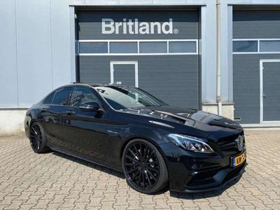 tweedehands Mercedes C63 AMG AMG bj2015 *Akrapovic *20inch Vossen *Burmester *Adapt