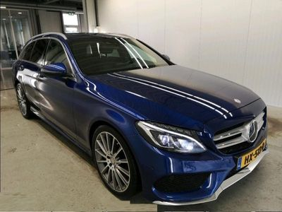 tweedehands Mercedes 300 C-KLASSE EstateCDI HYBRID AMG STYLING Ambition | EX BTW | AUT. *NAVI+LED+LEDER+KEYLESS-GO+ECC+PDC+CRUISE*
