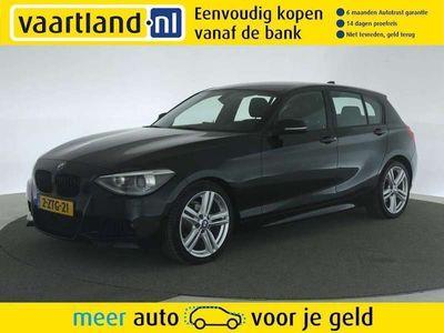 tweedehands BMW 116 1-SERIE d M-pakket 5-drs [ Navi Xenon ]