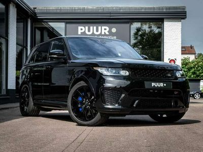 tweedehands Land Rover Range Rover Sport 5.0 V8 Supercharged SVR Carbon - Pano - Schaalstoe