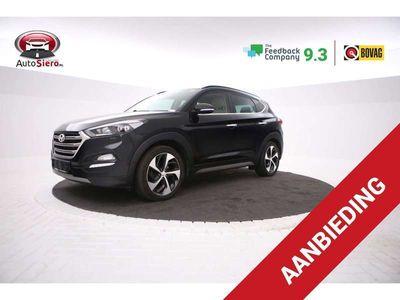tweedehands Hyundai Tucson 1.7 CRDi HP Premium Volle opties, Automaat, Leer,